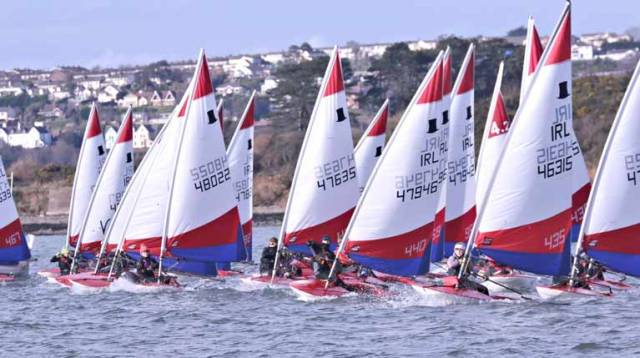 Topper sailing comes to the National Yacht Club this weekend