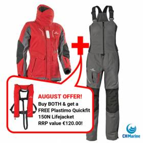 Save On Lifejackets & Offshore Seawear With CH Marine This August