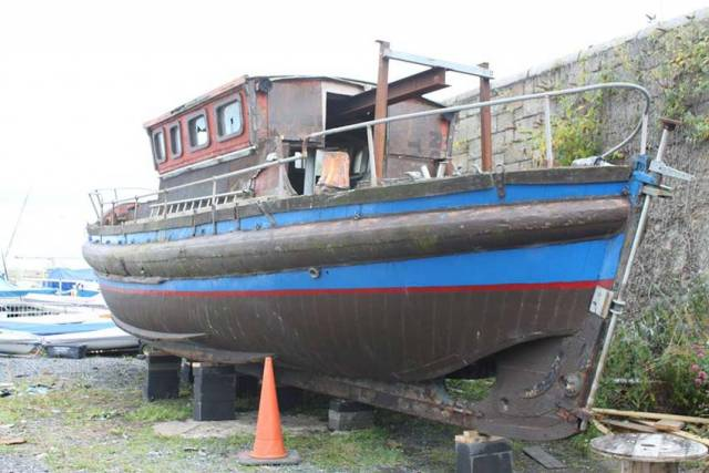 The Dunleary is back home 80 years after moving across the Irish Sea for lifesaving service in Lancashire