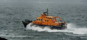 Ballyglass RNLI has rescued three fishermen off the Mayo coast this morning, following a 10 hour call out