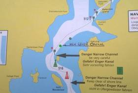 Placement Of New Navigational Aid In Lough Ree