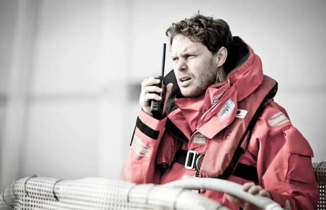 Conall Morrison is three days into the current all-Chinese leg of the 2017-18 Clipper Race