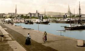 This presentation introduces the background to the building of the harbour before examining how the harbour was constructed and how works progressed to the completion of the piers more than a quarter of a century later.