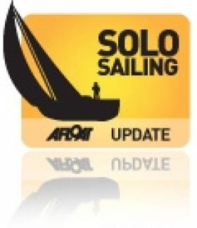Solo Sailor Embarks on North Atlantic Record;5 days,19 hours, 30 minutes & 40 seconds