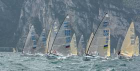 There are 355 Finn sailors from 32 countries for the 2016 Finn World Masters on Lake Garda