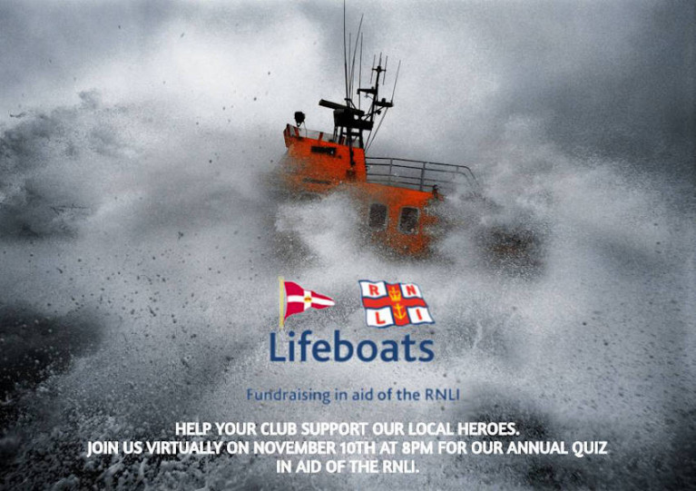 Royal St George's Annual Table Quiz For RNLI Zooms Ahead Online Next Tuesday Night