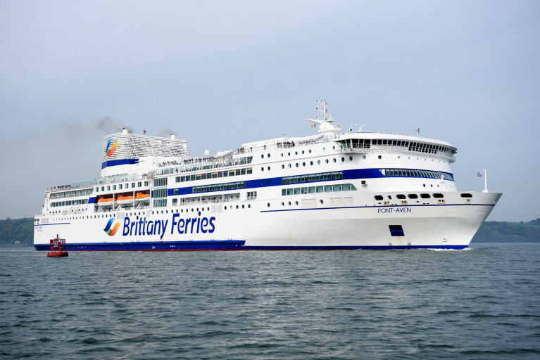 Passengers of Brittany Ferries are concerned about being offered vouchers instead of refunds for cancelled sailings. AFLOAT adds the flagship Pont-Aven is seen last season within Cork Harbour when bound for Roscoff, France