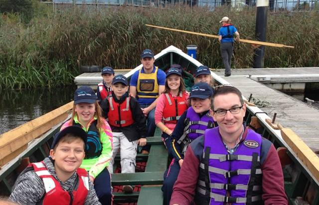 90 students and teachers from four second level schools in Co Fermanagh engaged in water based learning activities on Lough Erne