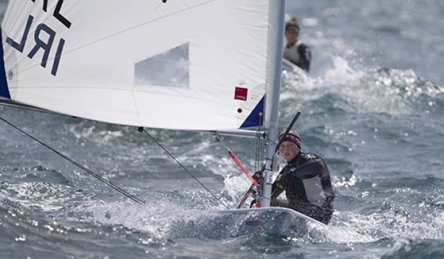 Tokyo Olympic campaigner Aoife Hopkins from Howth will compete in Dun Laoghaire's Laser Radial Worlds in July