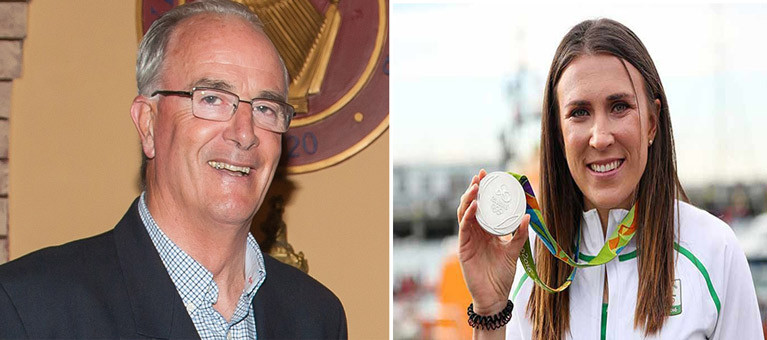 "At the double. Anthony O'Leary of Crosshaven and Annalise Murphy of Dun Laoghaire are the only contenders to be Afloat.ie ""Sailors of the Year"" twice – himself in 2010 and 2014, and herself in 2012 and 2016"