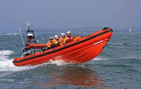 Portaferry RNLI's Atlantic 85 inshore lifeboat