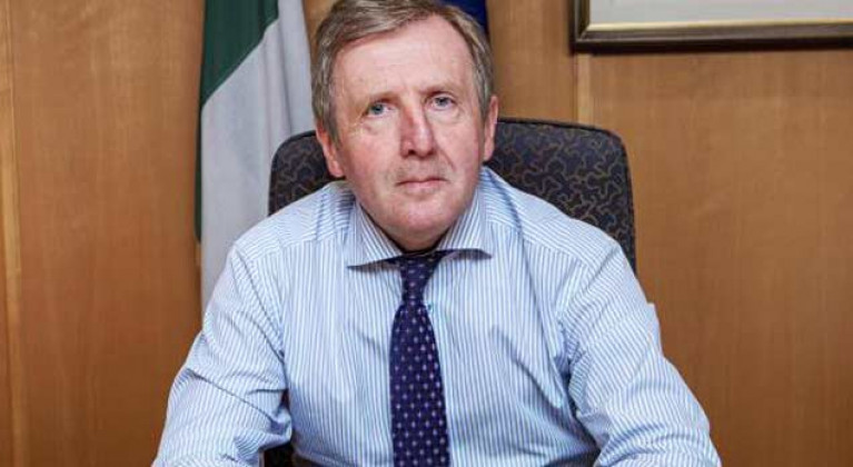 Marine Minister Michael Creed