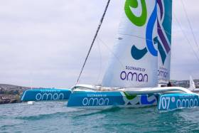 The race is on to recover Round Ireland record breaker Musandam-Oman Sail
