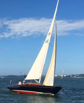 "The ""Super Etchells 22"" Guapa on Cork Harbour"