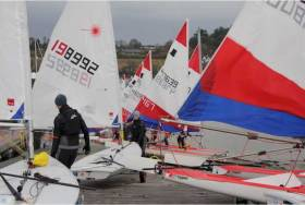 Cork Harbour Topper & Laser Frostbite Series Concludes at Royal Cork Yacht Club