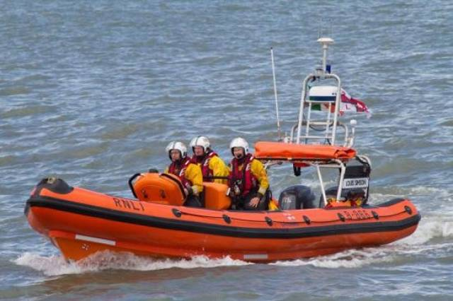 Skerries lifeboat was involved in this morning's Fishing Vessel rescue off the Dublin Coast