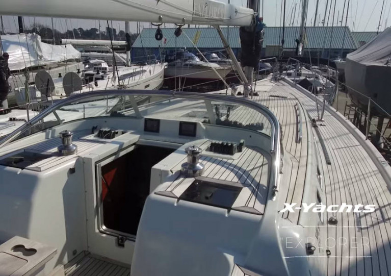 Still from the video tour of the pre-owned Xc 50, Explorer, in Hamble