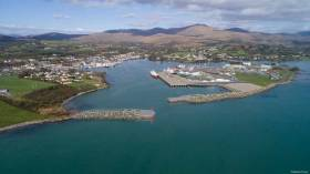 Castletownbere Harbour in County Cork is a licensed Herring fishery