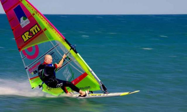 Windsurfer Oisin Van Gelderen Sets New Irish Speed Sailing title
