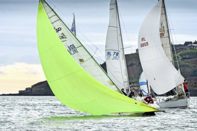 Some great racing in light conditions for today's fourth race of the O'Leary Insurances League at RCYC. Scroll down for gallery of Cork Harbour action.
