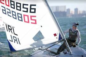 Royal St. George's Tom Higgins Wins Andalusian Olympic Week in Laser Radial Class