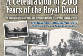 Waterways Ireland Archive Exhibition in Mullingar Celebrates 200 Years of the Royal Canal