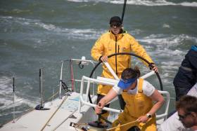 Practice racing in The Hague on board Turn the Tide on Plastic, Thursday 28 June