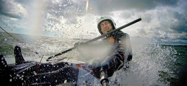 Gary Sargent is sailing a Laser dinghy Round Ireland. Scroll down to listen to the podcast.
