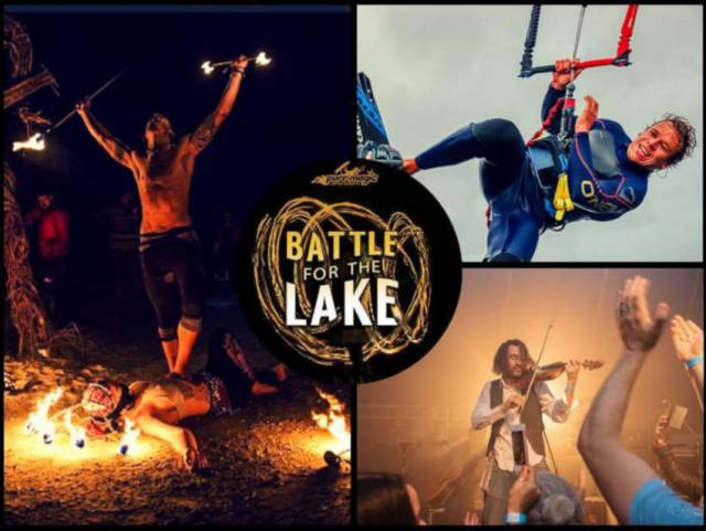 Kitesurfers Clash On Achill Island In 'Battle For The Lake' This Weekend