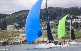 Competitors in the 500-boat July VDLR Regatta on Dublin Bay