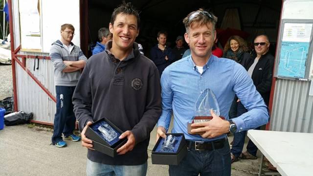 Shane McCarthy and Noel Butler are Fireball Munster winners. Scroll down for more prizegiving photos