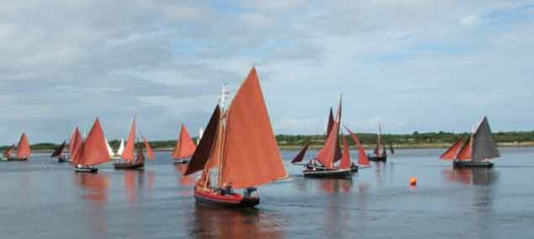 The hugely popular Cruinnui na mBad gathering of traditional boats at Kinvara in Galway Bay celebrated its 40th Anniversary last year