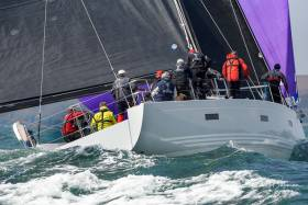 Conor Doyle's impressive XP 50 Freya will sail for the honour of the home fleet