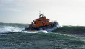 Rosslare Harbour RNLI on exercise
