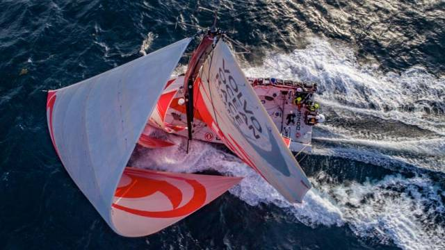 Day 12 of Leg 8 on board Dongfeng Race Team, Thursday 3 May