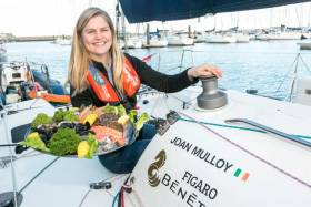 BIM seafood ambassador and Figaro contender Joan Mulloy will lead the Royal Galway Yacht Club's cruise in company this Sunday