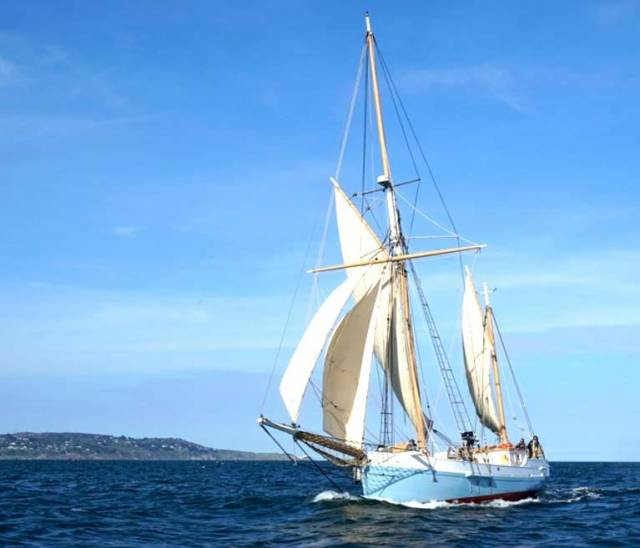 Baltimore Wooden Boat Festival Welcomes Restored Ilen Home to Her Birthplace After Historic Dublin Visit