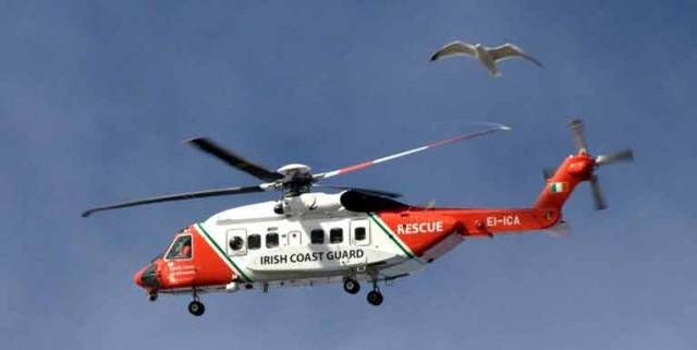 Coast Guard Helicopter R116 – the search for two missing crew continues