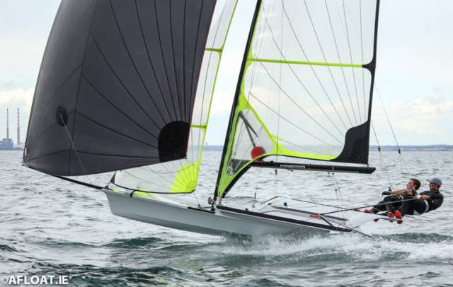 Robert Dickson and Sean Waddilove of Howth are one of two Irish teams competing for an Olympic berth in Auckland next month