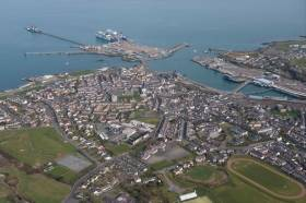 Town councillors in Holyhead, Wales fear the impact of Brexit with a no-deal exit from Europe on the town and its port.