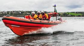 Crosshaven RNLI's inshore lifeboat Miss Betty
