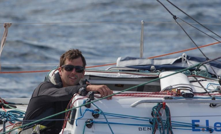 Tom Dolan - 12th in leg one of the 2020 La Solitaire du Figaro