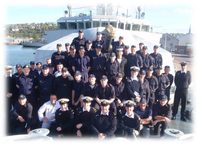 RACO says that, despite Government commitments to boost numbers, they have fallen to an all-time low of 8,485. Above AFLOAT adds is the crew of LÉ Niamh (P52) which a decade ago made a ten-week trade & diplomatic mission to South America in 2010. The 'P52' travelled over 18,000 nautical miles passing through the famous Panama Canal.