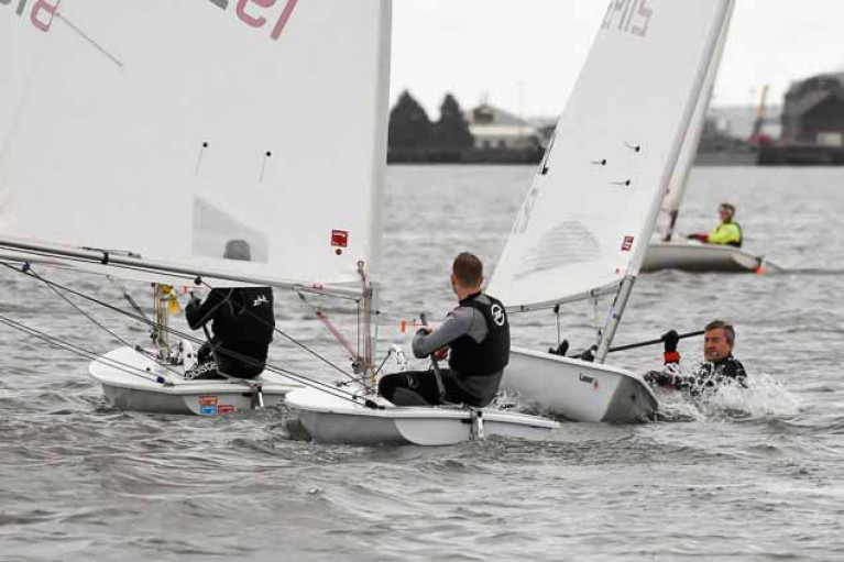 Monkstown Bay Laser racing