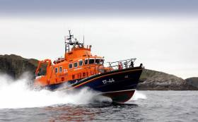 Ireland's RNLI crews - including Castletownbere above - will feature in the 12-part documentary that starts on Wednesday 16 August on BBC Two