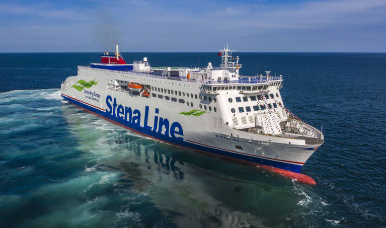 The 'next generation' ferry, Stena Estrid will sail between Holyhead and Dublin
