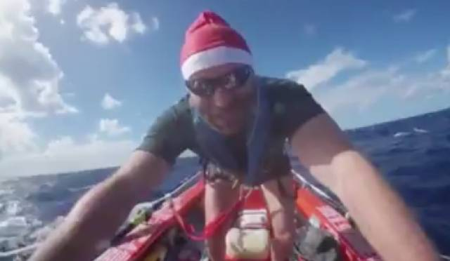 Christmas Cheer for Irish Atlantic Rowers