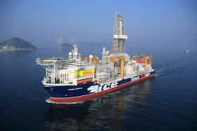 The drill ship Stena Icemax will be working in the Southern Porcupine Basin for the next two months