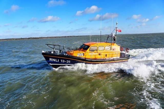 Clogherhead RNLI Lifeboat