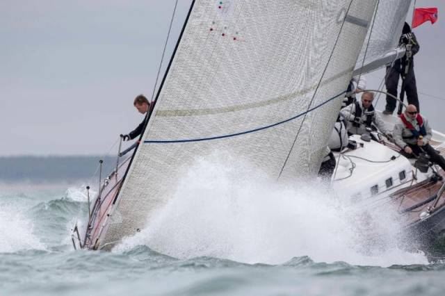 Heavyweight of the Flanders Nord team: François Goubau's Beneteau First 47.7, Moana